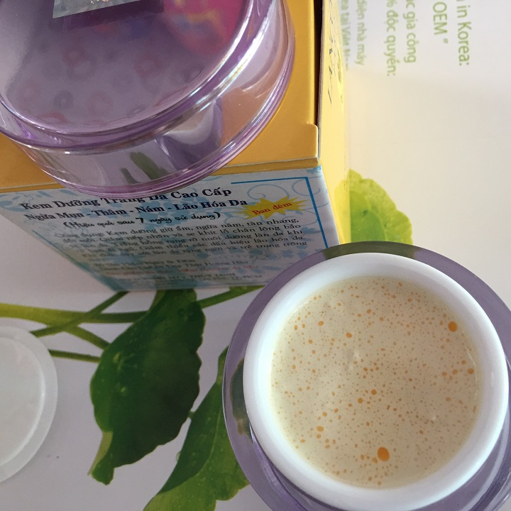 Kem dưỡng trắng ngừa mụn trị thâm nám hiệu quả nhanh