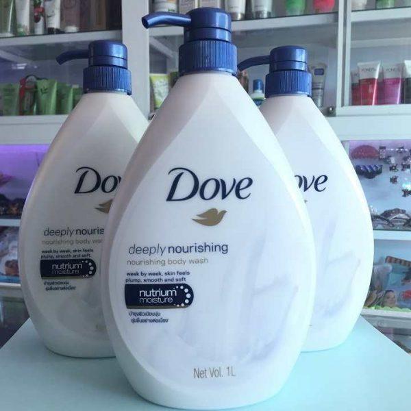 sữa tắm dưỡng thể dove thái 550ml