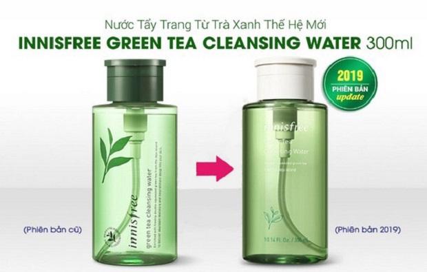 Nước Tẩy Trang Innisfree Trà Xanh Green Tea Cleansing Water Mẫu 2019